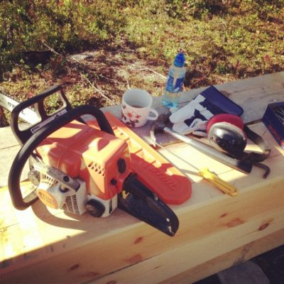 Frem med verktøy! Nå skal det bygges materialtørke!